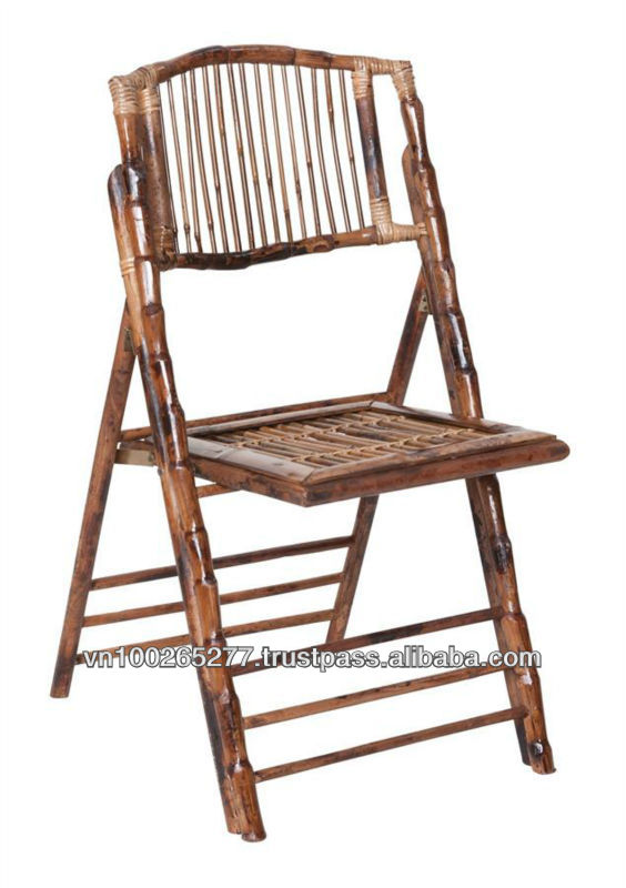 BF-13007 - Outdoor living furniture - Bamboo folding chair