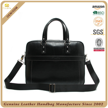 High class office bag fashion lady genuine leather briefcase