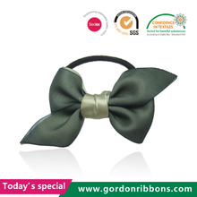 Handmade hair bow with elastic band wholesale