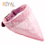 Pet Bandana 100% Algodão Triangle Pet Clothes Dog Bandana
