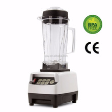 Kitchen living professional high speedy powerful food heating vortex blender mixer processor commercial blender
