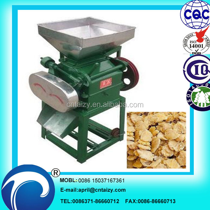 easy cooking Grain Flattening Machine/ flaking mill