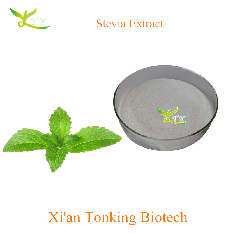 Pure Natural Stevia leaf extract powder 90% steviol glycosides