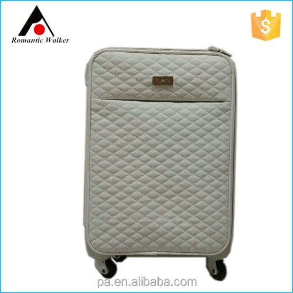 classical PU luggage box /Soft trolley luggage/ suitcase/
