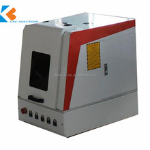 10W 20W 50W portable Mini fiber laser marking machine for printed circuit board, chip,mobile phone shell