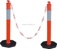 Good Quality Safety Reflective Pole for Traffic Leads