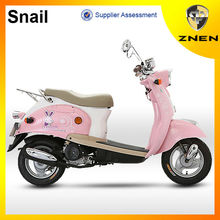 ZNEN MOTOR 2017 Popular small 49cc gas vespa scooter with strong and beautiful scooter wheel