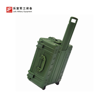 LG-645030 MADE IN CHINA Military <strong>Equipment</strong> Carry Box Waterproof Hinged Large Hard Plastic Trolley Case With Wheels