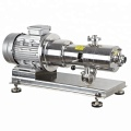 stainless steel in-line three stage mixer for lotion