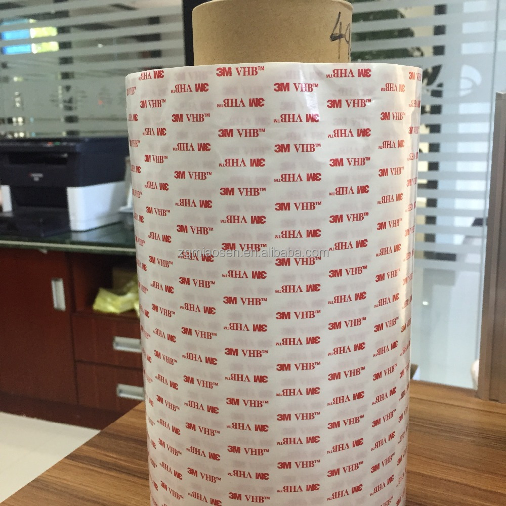 factory supply heat resistant double sided foam adhesive tape 3m 4920 white acrylic foam tape