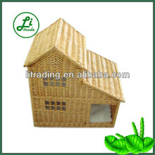 popular wicker cat house