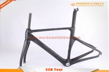 High quality carbon frame no folding frame bycicle frame carbon road