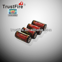 Trustfire Li-ion rechargeable li ion cylindrical battery 18350 3.7v 1200mah for e cigarette original factory from China