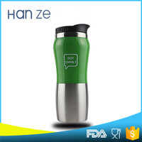Hot sale BPA free Peanut-shaped with lids plastic water dispenser joyshaker sports bottle