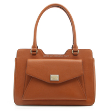 CSS 1552-002 lady genuine leather handbag, designed for brand from factory with good price and quality