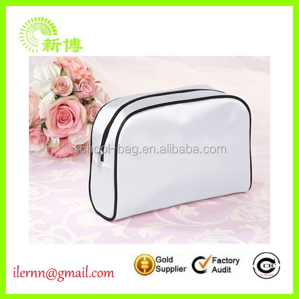 Wholesale fashion style customzied logo PU cosmetic bags