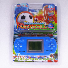 Exciting Football Game player portable consoles for kids on sale cheap