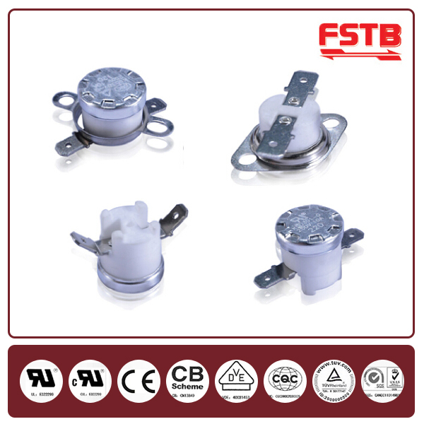 KSD 301 Series Bimetal Thermostat 180C NC Temperature Control Thermal Switch Cooking Apparatus Thermostat