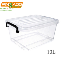 10 Liter High Quality Food Grade High Quality Plastic Storage Tub Box