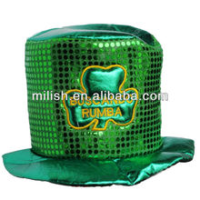 Party Green st patrick's day Funny top hat MH-1689