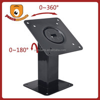 Metal Small 360 degree rotating and 180 degrees tilting laptop touch screen desk stand