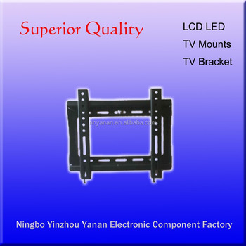 Ultra slim tv bracket for flat panel screen size15''-32''inches