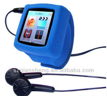 Colorful MP3 MP4 wrist watch music player
