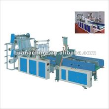 Full Automatic Hot Sealing Cold Cutting Vest Bag Making Machine