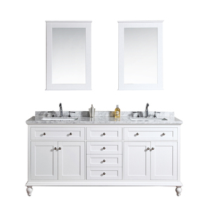 import classic bathroom vanity cabinet with washbasin