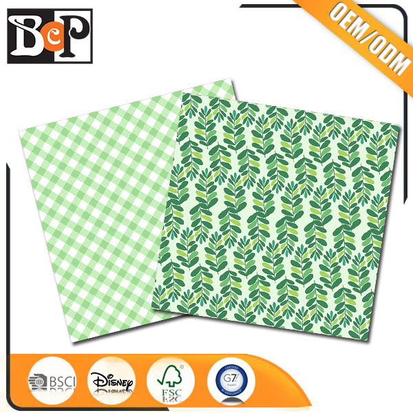 Craft supply Single side or double side printing color paper with BSCI