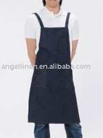 black gallus style cooking full apron