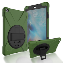Alibaba Wholesale Rugged Rotary Silicone Rubber Protective Belt Clip Armband Leather Case for 7 Inch Tablet Cover