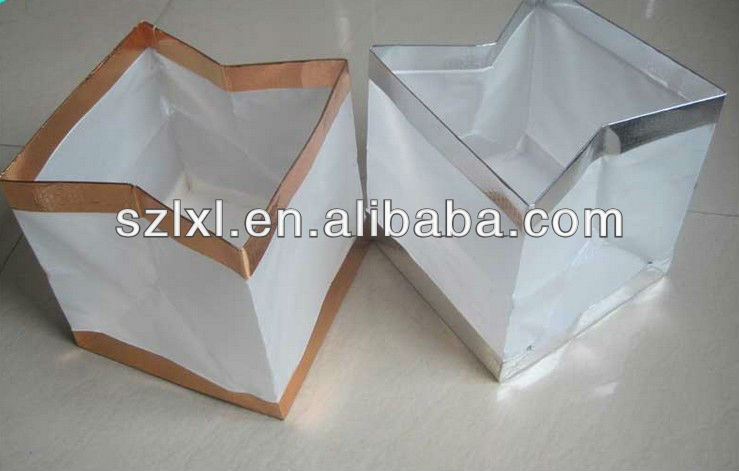 White Paper Box Lantern for Pool/ Water Floating Square Shape Paper lantern