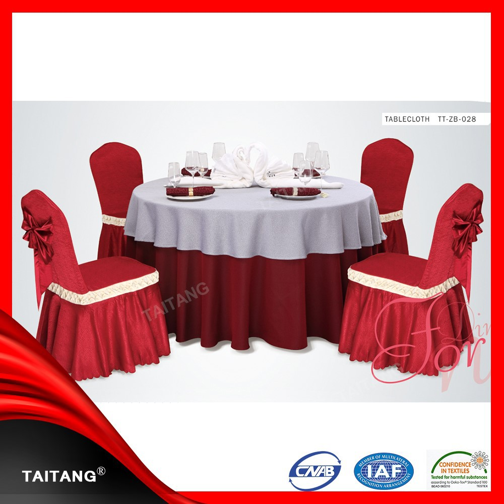 2017new series polyester restaurant satin table cover easter tablecloth