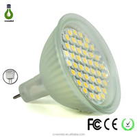 High quality CE 110-220V 3w CRI>85 Warm white/Cool white SMD 3528 MR16 spot led
