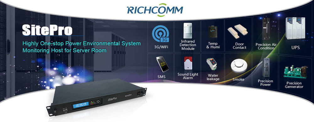 Integrated Powe Energyr/Environment Monitoring System(Micro DCIM)