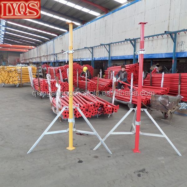 Pole Shoring Jacks : Adjustable steel shoring jack post shore screw props for