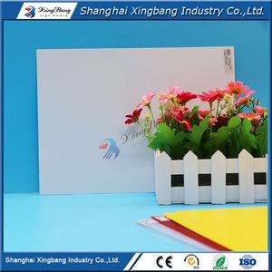 CE/ISO certification 0.6mm plastic rigid vinyl sheet placard