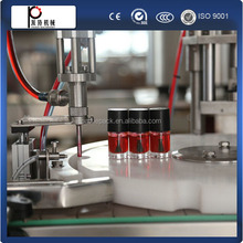 Shanghai manufacturer free shipping nail polish/gel polish filling capping machine for small glass bottles