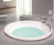 large acrylic round bathing tub low price