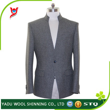 Best men suit brands / standing collar men suit / slim fit men suits