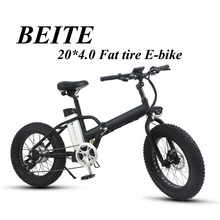 Alumium alloy electric folding bike factory, fat tire electric bicycle