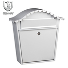 waterproof wall mounted stainless steel mail box