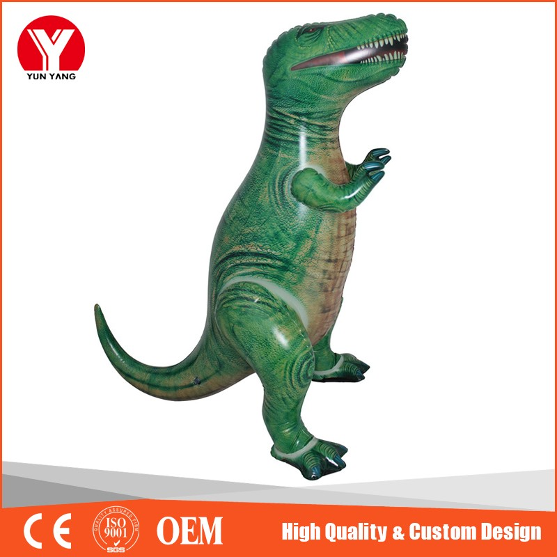 Giant life-size inflatable dinosaur t-rex