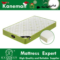 eco-friendly high density foam durable mattress vacuum compressed and rolled baby mat