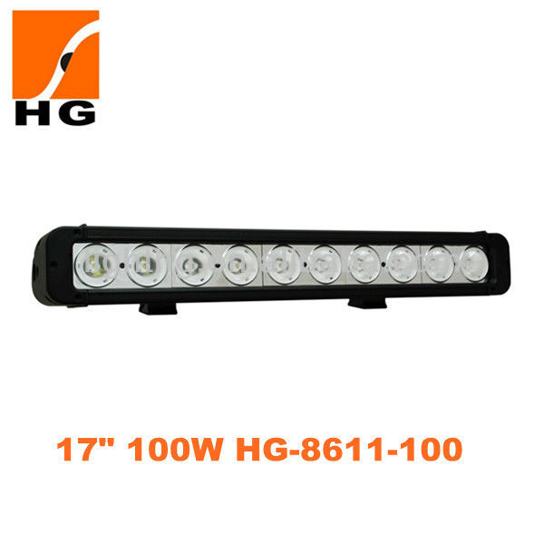Car accessory auto lighting single row cree 100w led light bar for trucks,offroad,mini jeep,bus,suv,atv,utv led light bar 100w