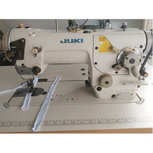 Used japan juki 2284N zig zag single needle industrial sewing machine in good condition