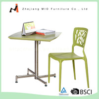 Modern design cheap price widely use cafe tables and chairs