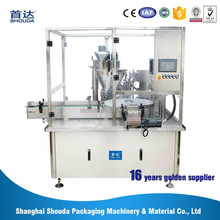 Rotary type goat milk powder canned filling production line
