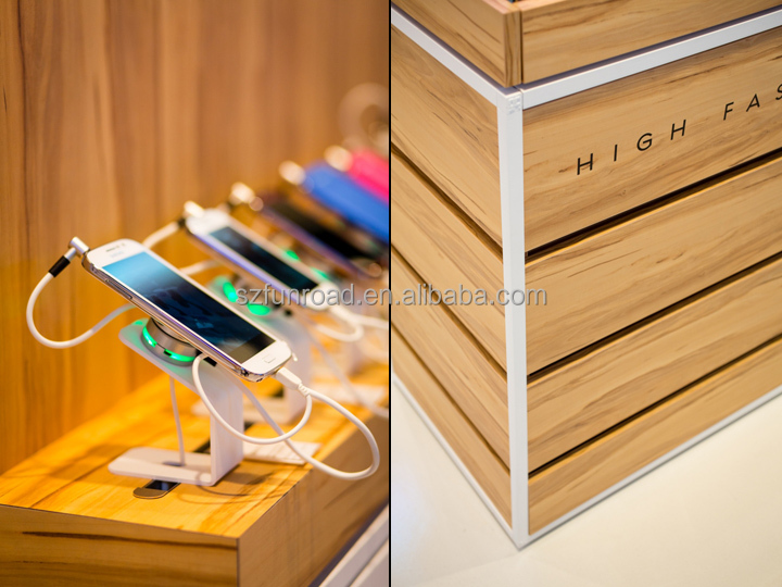 Excellent quality customized mobile phone shop design for sale